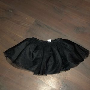 BRAND NEW! Black tulle skirt for baby girl